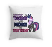 Time Travel is Magic? Throw Pillow