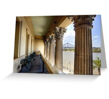 The View from Customs House • Brisbane • Queensland Greeting Card
