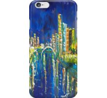 Southbank at Night Melbourne Vic Australia iPhone Case/Skin
