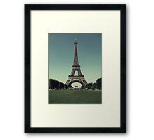Champ de Mars Framed Print