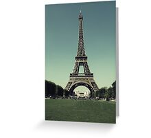 Champ de Mars Greeting Card