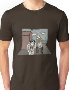 The Girl at the Dock's meet's a Cat Unisex T-Shirt