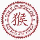 Year of The Monkey 2016 Chinese Zodiac Monkey 2016 by ChineseZodiac