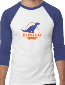 Dinoco (Cars) Men's Baseball ¾ T-Shirt