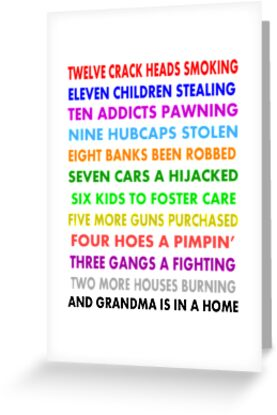 """Funny The Twelve Days of Christmas """" Greeting Cards & Postcards by ..."""