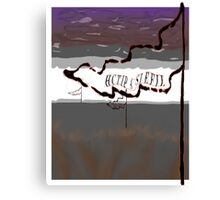 HARK THE HERALD Canvas Print