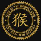 Year of The Monkey 2016 Chinese New Year 2016 by ChineseZodiac