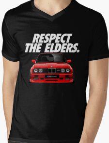 Respect The Elder - BMW E30/M3 Mens V-Neck T-Shirt