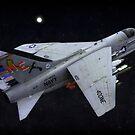 A-7E Corsair II by Mike Capone