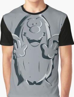 Captain Caveman Frozen So-lid Graphic T-Shirt