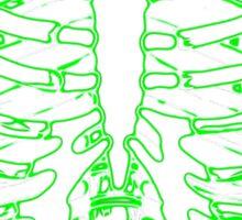 Skeleton Glow Sticker