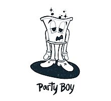 Party Boy Photographic Print