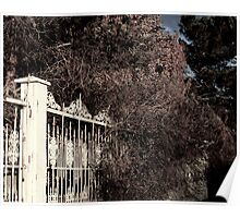 Rusted Pearly Gates Poster