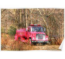 Washington Fire Truck  #86K3 Poster