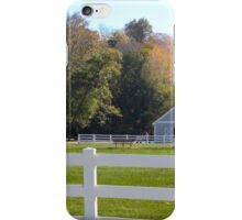 FENCES AT WOODED GLEN iPhone Case/Skin