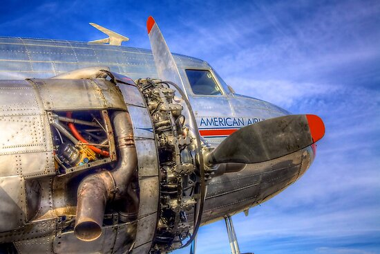 Under the Skin -- Vintage DC-3 by njordphoto