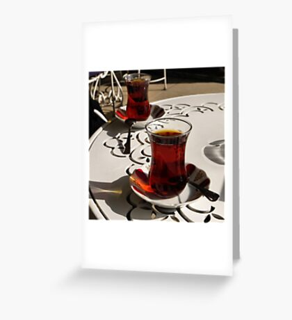 Yet another way to wait (Sütlüce) Greeting Card