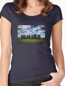 What's the Meaning of Stonehenge?! Women's Fitted Scoop T-Shirt