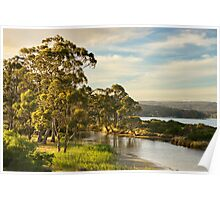 Captain Cook Creek, Bruny Island Poster