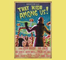 They Hide Among Us! Poster Kids Tee