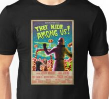 They Hide Among Us! Poster Unisex T-Shirt