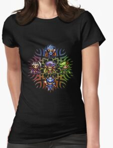 FF4 To the Center of the Moon Womens Fitted T-Shirt
