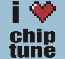 Chiptune love Baby Tee