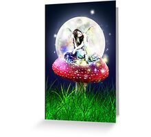 Fairy Moon Greeting Card