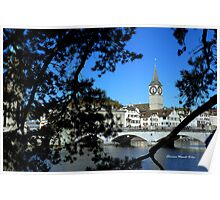 Reflections of Limmat Poster