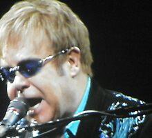 Sir Elton John by alhewitt