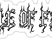 Cradle of filth music Sticker