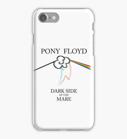 Floyd Pone - Dark Side of the Mare (WHITE / STICKER) iPhone Case/Skin