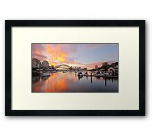 Bay of Fire Framed Print