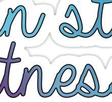 Penn State Fitness Sticker