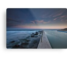 South Curl Curl Rock Pool Metal Print