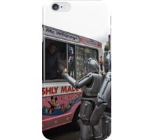 Cyberman buying an ice cream iPhone Case/Skin