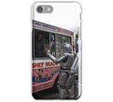 Cyberman buying an ice cream iPhone Case/Skin