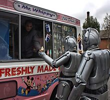 Cyberman buying an ice cream by LooseImages