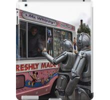 Cyberman buying an ice cream iPad Case/Skin