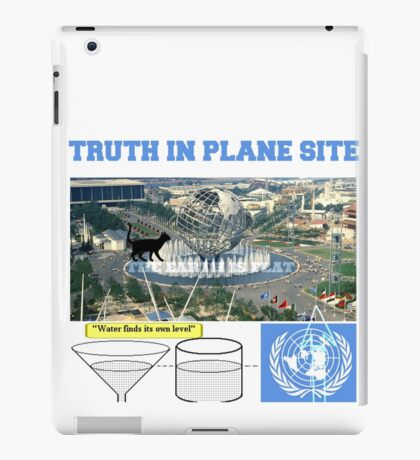 truth in plane site iPad Case/Skin