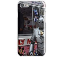 Cyberman with ice cream iPhone Case/Skin
