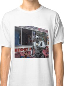 Cyberman with ice cream Classic T-Shirt
