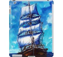 Old ship sailing iPad Case/Skin