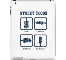 Pinoy Street Food Icons iPad Case/Skin