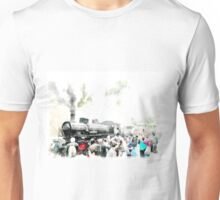 Steam locomotive train of the Ville Pontificie Unisex T-Shirt