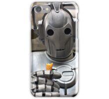 Cyberman with ice cream cone iPhone Case/Skin