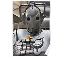 Cyberman with ice cream cone Poster