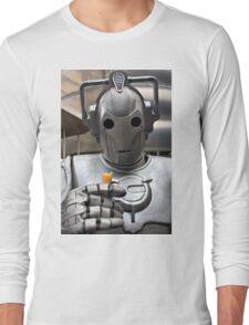 Cyberman with ice cream cone Long Sleeve T-Shirt