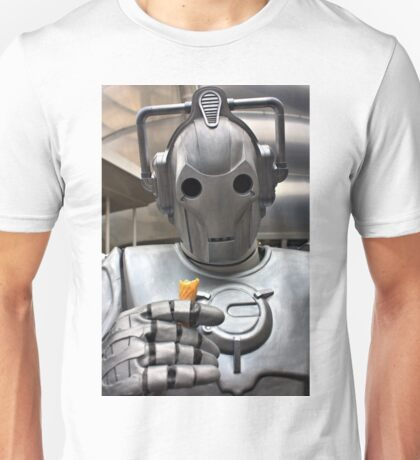 Cyberman with ice cream cone Unisex T-Shirt