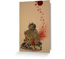 Blooderflys Greeting Card